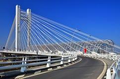 Brigde моста Basarab в Бухарест, Румынии Стоковая Фотография
