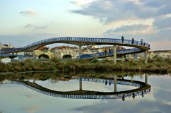 Brigde in Aveiro Royalty Free Stock Photography