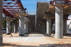 Brigde construction Stock Image