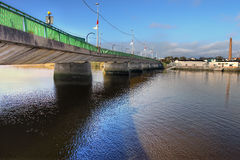 Brigde de Shannon dans la ville de Limerick - Irlande. Images stock