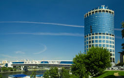 brigde Moscow wieży Fotografia Royalty Free