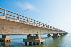 Brigde in South of Thailand Royalty Free Stock Photos