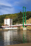 Brige av Pobena, Muskiz Royaltyfri Fotografi