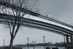 Brige black and white Stock Photography