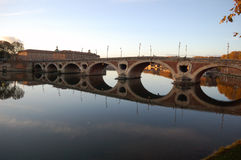 Brige on Garrone Royalty Free Stock Photography