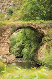 The brige in Hunot canyon Royalty Free Stock Photography