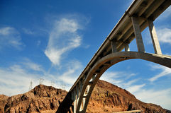 Brige over Hoover Dam, Nevada and Arizona Stock Images