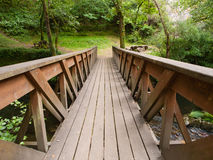 Brige in a park outdoors Royalty Free Stock Images