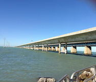 Brige till Key West Florida Royaltyfri Foto