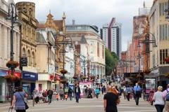 Briggate ulica, Leeds Fotografia Stock