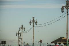 Brigghton, Inglaterra - cargos da lâmpada Foto de Stock