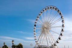 BRIGGHTON, SUSSEX/UK - 27 DE JANEIRO: Ferris Wheel em Brigghton em j Fotografia de Stock Royalty Free