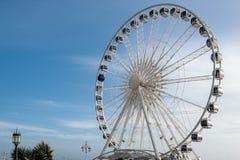 BRIGGHTON, SUSSEX/UK - 27 DE JANEIRO: Ferris Wheel em Brigghton em j Fotografia de Stock