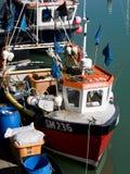 BRIGGHTON, SUSSEX/UK - 24 DE MAIO: Opinião Brighton Marina em brilhante Fotos de Stock Royalty Free