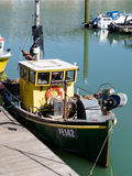 BRIGGHTON, SUSSEX/UK - 24 DE MAIO: Opinião Brighton Marina em brilhante Foto de Stock Royalty Free