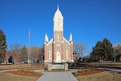 Brigham City Utah arkivfoton