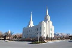 Brigham City Utah royaltyfri bild