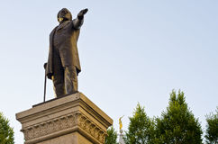Brigham Young staty arkivfoton