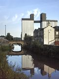 Brighouse Calder Hebble Canal Lizenzfreie Stockfotos