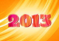Bright 2013 sign Stock Images
