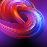 Bright abstract background with colorful swirl flow. Vector illustration. EPS10 royalty free illustration