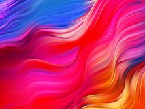 Bright abstract background with colorful swirl flow. Vector illustration. EPS10 Stock Illustration