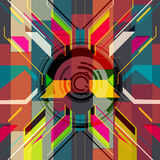 Bright abstract background royalty free illustration