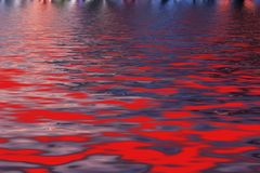 Bright abstract background, imitation of hot magmatic lake. With molten lava effect royalty free stock photos