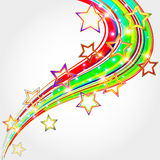 Bright abstract background  with  stars. Stock Photo