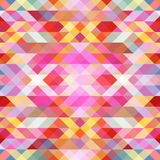 Bright abstract background from triangles. Vector. You can make a seamless background Royalty Free Stock Photos