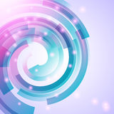 Bright abstract background - vector illustration Royalty Free Stock Photography