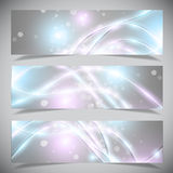 Bright abstract banners collection. Stock Photography
