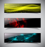 Bright abstract banners collection. Vector illustration eps 10 Stock Image