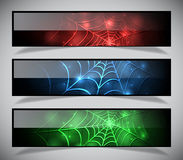 Bright abstract banners collection. Vector illustration eps 10 Stock Images