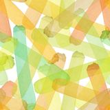 Bright abstract beautiful transparent elegant graphic artistic texture autumn yellow, orange, green, herbal, light brown lines pat Stock Image