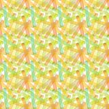 Bright abstract beautiful transparent elegant graphic artistic texture autumn yellow, orange, green, herbal, light brown lines pat Stock Photo