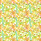 Bright abstract beautiful transparent elegant graphic artistic texture autumn yellow, orange, green, herbal, light brown lines pat Royalty Free Stock Images