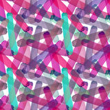 Bright abstract beautiful transparent elegant graphic artistic texture red, pink, purple, violet, magenta, green lines pattern of. Watercolor hand sketch vector illustration