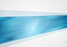Bright abstract blue tech background Stock Photos