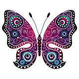Bright abstract butterfly Royalty Free Stock Image