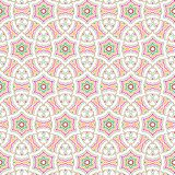 Bright Abstract Colorful Star Flower Illusion  Pattern Background. Luxury Bright Abstract Colorful  Star Floral Flower  Square Pattern Fabric Vector Background Stock Images
