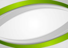 Bright abstract corporate wavy background Royalty Free Stock Photos