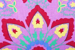 Bright abstract floral pattern royalty free stock photography
