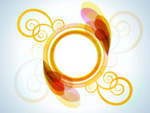 Bright Abstract Frame For Your Design Stock Photos