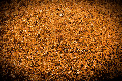 Bright abstract grain gold textured Stock Photo