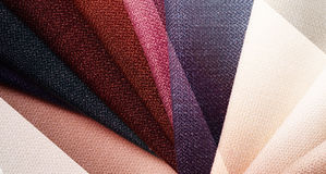 Bright abstract graphic background with gunny textile samples. Good for advertising backdrop. Stock Photos