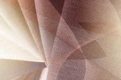 Bright abstract graphic background with gunny textile samples. Good for advertising backdrop. Stock Photography