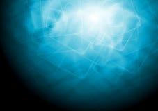 Bright abstract hi-tech vector design. Abstract blue tech vector background Royalty Free Stock Photo