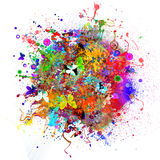 Bright abstract illustration Royalty Free Stock Photo
