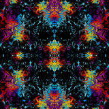 Bright abstract illustration Stock Image